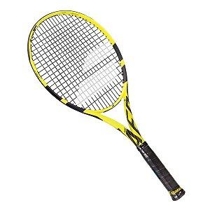 Raquete De Tênis Babolat Pureaero L3 4 3/8 Amarelo/preto