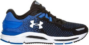 Tênis Masculino Under Armour Charged Spread Knit Azul e Preto