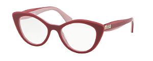 Óculos de Grau Miu Miu MU01RV H201O1 52-18