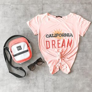 T Shirt California Dream Bordada