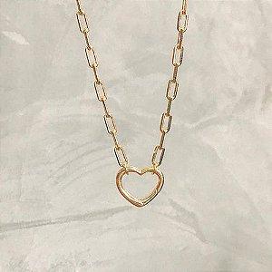 Colar Coração Cartier