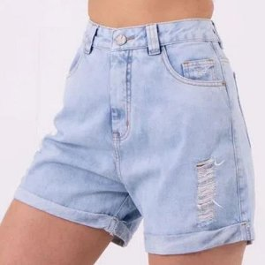 Shorts Mom Claro Lady Rock