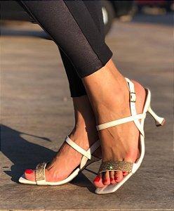 Sandália com Strass