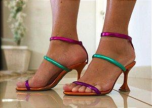 Sandália Salto Taça de Tiras