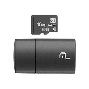 Cartão de Memória Micro SD + Pen Drive 16GB Classe 10
