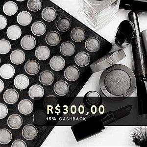 Voucher de R$ 300 | Cashback de 15%