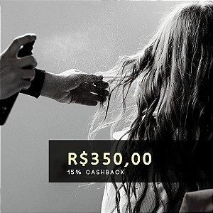 Voucher de R$ 350 | Cashback de 15%