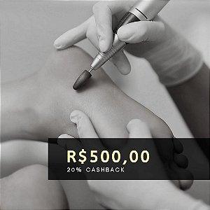 Voucher de R$ 500 | Cashback de 20%