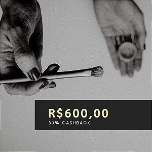 Voucher de R$ 600 | Cashback de 30%