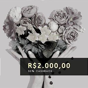 Voucher de R$ 2.000 | Cashback de 30%
