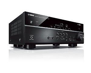 Receiver Yamaha RX-V485 BL Dolby Vision 5.1ch Bluetooth Wi-Fi AirPlay 4K UltraHD HDR10 - Bivolt