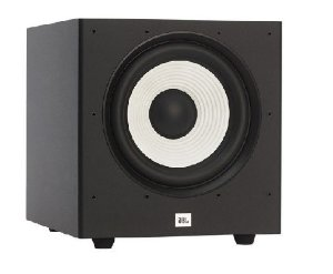 "Subwoofer Ativo JBL Stage A100P - 10"" com 300W - Black / Brown - Bivolt"