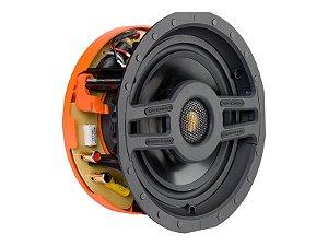 Monitor Audio Caixa de Som de Embutir Quadrada SCS180S Alto Falante Teto 120W - White