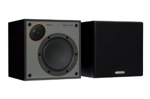 Monitor Audio SM50 - Par de Caixas Acústicas Bookshelf 15-70W - Black / White