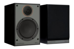 Monitor Audio SM100 - Par de Caixas Acústicas Bookshelf 30-100W - Black / White / Walnut