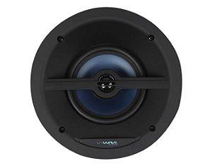 """Wave Sound Caixa de Som de Embutir WIN120 Angulada Tela Slim Quadrada 6,5"""" 120W - Unidade - Black / White"""