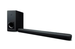 Soundbar Yamaha YAS-209 3D Surround Bluetooth Controle de Voz Alexa 200W e Subwoofer Ativo Wireless 100W - Black - Bivolt