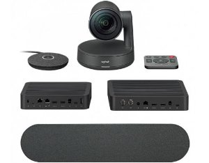 Sistema De Videoconferência Logitech Rally