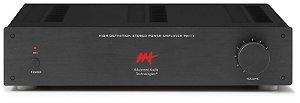 Amplificador de potência AAT PM-1V - 2 canais 140W / 280W RMS máximo com controle de volume - Bivolt