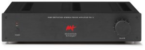 Amplificador de potência Advanced Audio Technologies - 2 canais 140W / 280W RMS máximo com controle de volume - Bivolt