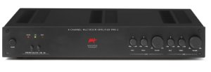 Amplificador multiroom AAT PMR-2 - 2 zonas e 4 canais 200W / 400W RMS máximo - Bivolt