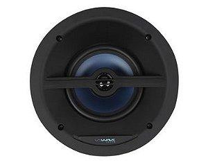 """Wave Sound Caixa de Som de Embutir WSR150 Quadrada Tela Slim 6,5"""" 150W - Unidade - Black / White"""
