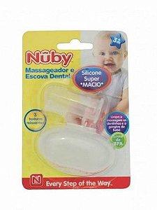 Massageador e Escova Dental - Nuby