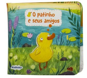 Livrinho de Banho Patinho Amarelo - Kababy