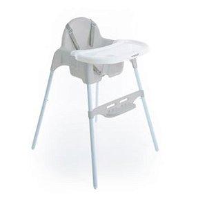Cadeira de Refeição Macaron Cinza - Voyage