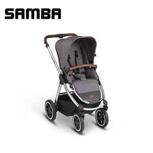 Carrinho de Bebê ABC Design - Samba Diamond Asphalt