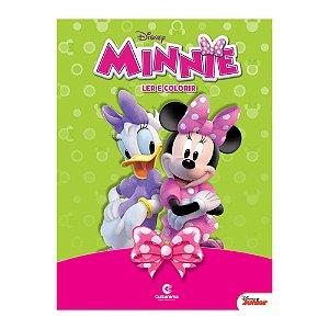Livro Gigante Ler e Colorir Minnie - Culturama