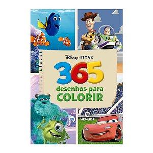 Livro 365 Desenhos Para Colorir Disney Pixar - Culturama