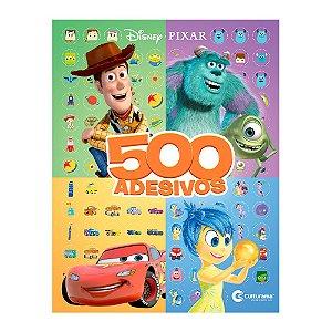Livro 500 Adesivos Disney Pixar - Culturama