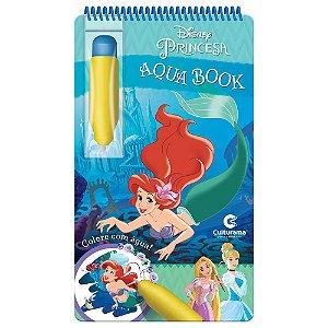 Livro Aqua Book Princesas - Culturama