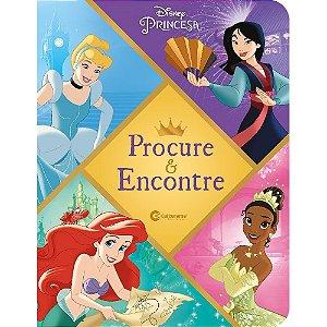 Livro Procure e Encontre Disney Princesa - Culturama