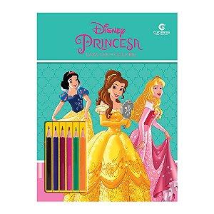 Livro Para Ler e Colorir com Lápis Princesas - Culturama