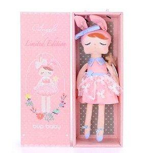Boneca Angela Fada Rosa com Caixa - Metoo