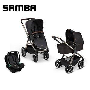 Carrinho de Bebê ABC Design - Samba Diamond Dolphin Trio