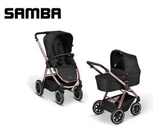 Carrinho de Bebê ABC Design - Samba Diamond Rose Gold Duo