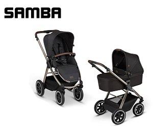 Carrinho de Bebê ABC Design - Samba Diamond Dolphin Duo