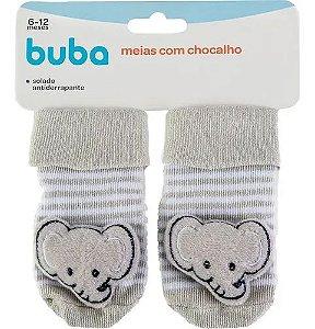 Meias Pantufa com Chocalho Elefantinho - Buba