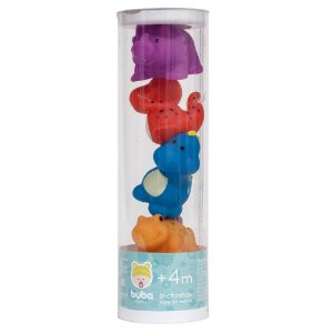 Brinquedo de Banho Dino Tubo - Buba