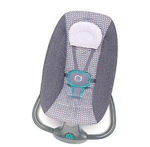 Cadeira de Balanço Automática com Bluetooth Techno Light Cinza - Mastela