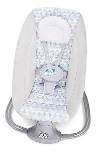 Cadeira de Balanço Automática com Bluetooth Techno Light Cinza Fit - Mastela