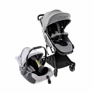 Carrinho de Bebê Infanti - Legend Duo TS Grey Bold