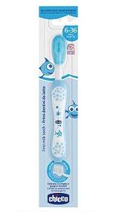 Escova de Dentes Azul 6m+ - Chicco