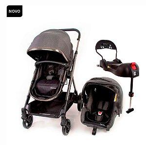 Carrinho de Bebê Discover TS Trio Grey Chrome - Safety 1st