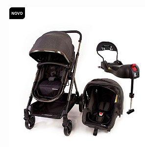 Carrinho de Bebê Discover TS Trio Black Chrome - Safety 1st