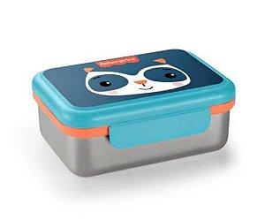 Bento Box Aço Inox Hot & Cold Azul Fresh - Fisher Price