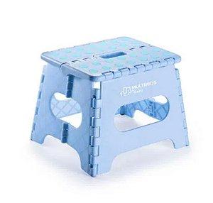 Banquinho Multiuso Dobrável Azul - Multikids Baby